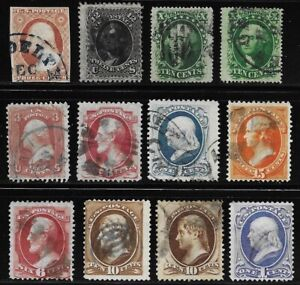 Lot #4 - Lot of Old US Stamps