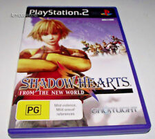Shadow Hearts From the New World PS2 PAL *Complete*