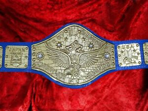 Bob Backlund WWWF Heavyweight Title Wrestling Champion Belt Old Championship