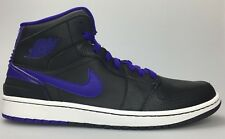 Nike Air Jordan Retro '86 Men 11 Black Dark Concord Purple White 644490 014 Fly