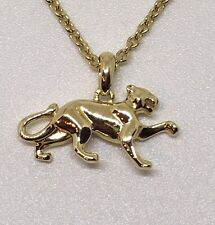 Cartier 18k Yellow Gold Panthere Necklace