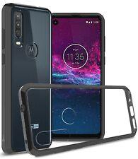 For Motorola One Action Case TPU Bumper Hybrid Slim Fit Hard Back Phone Cover