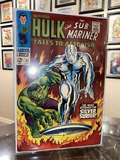 Tales to Astonish 93  Classic Silver Surfer Hulk Cover 7.0 Range Sharp Copy🔥