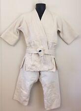 Vtg Bear Brand Made in Korea White Student Taekwondo Martial Arts Uniform 3 pc S