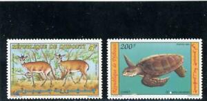 Djibouti 1992 Fish Animals Scott# 704-5 Mint NH