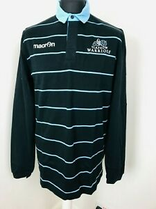 GLASGOW WARRIORS POLO SHIRT L/Sasual  CJERSEY SS Adult UK Size large