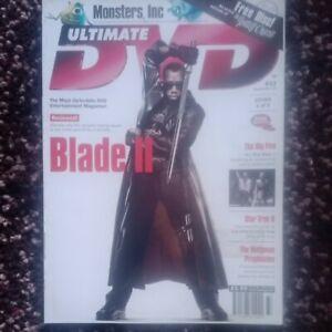 ULTIMATE DVD MAGAZINE #33 September 2002 BLADE II Star Wars TREK Monsters INC 24
