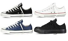 Mens Womens Converse Chuck Taylor All Star Low Ox Trainers Canvas Pumps Shoes