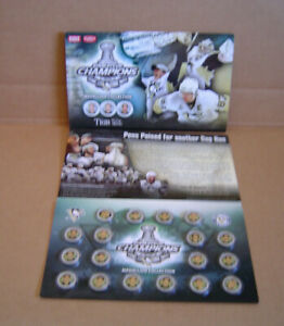 18 Piece Pittsburgh Penguins Champions Official Medallion Collection
