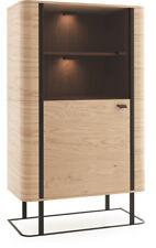 Display Case Office Filling Cabinet Wardrobe Glass Living Room Tall Shelf GRW34