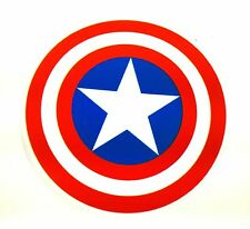 Captain America Sticker Shield Marvel Decal Car Computer Laptop Graphic Wall Art