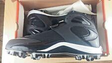 Nike Mens SIZE 11.5 BLADE III 3 SHARK Black Football Lacrosse CLEAT MSRP $60