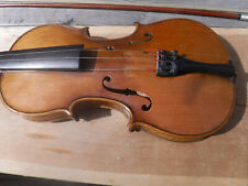 RARE ANTIQUE VINTAGE  WOLFF BROTHERS 1895 VIOLIN FIDDLE WITH BOW  ORIGINAL OLD