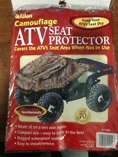 Allen ATV Seat Protector/Cover PVC, Realtree Mossy Oak Camouflage, New