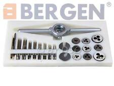 BERGEN  31 Pc Mini Metric Tap and Die Set M1 to M2.5 HSS high speed steel A2545