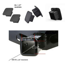 """Waterproof Black Trailer Hitch Cover Tube Plug Insert Fits 1.25"""" Receivers 1 pcs"""