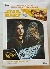 Solo A Star Wars Story Blaster Box (Topps 2018) One Patch Card Per Box