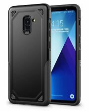 For Samsung Galaxy A8 A8+(2018)Hybrid Shockproof Armor Protect Case Rubber Cover