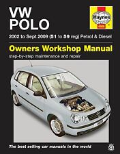 Volkswagen Vw Polo Gasolina Diesel 2002 - 2009 Haynes Manual de 4608 Nuevo