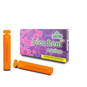 JALEA REAL ADULTOS CON VITAMINAS - 10, 30 o 50 Viales 1000 mg Jalea - SOTYA