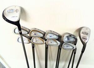 Ladies Golf Package Set Includes 3 Wood, Hybrid & Irons Ladies Graphite 10 Clubs