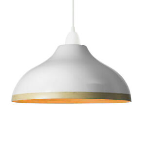 *NEW* Natural bamboo pendant lampshade with gloss lacquer exterior (Style: Wave)