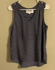 Stitch Fix Alice Blue Sleeveless Top Small