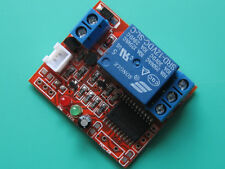 One-way self-locking 12V relay module, touch bistable switch