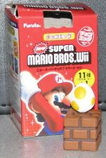 Furuta Super Mario Bros. Wii Yellow Egg Block Figure NES