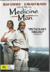 Medicine Man DVD Sean Connery New and Sealed Australia