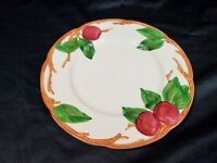 "Vintage Franciscan Apple Bread and Butter Salad Plate 1950's Half Moon Mark 8"" D"