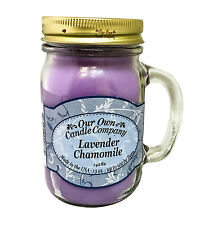 Lavender Chamomile Scented Candle in 13 oz Mason Jar by Our Own Candle Company