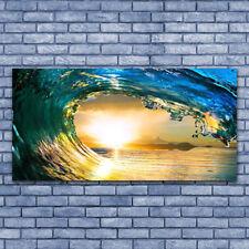 deko wandbilder aus glas mit sonnenuntergang g nstig kaufen ebay. Black Bedroom Furniture Sets. Home Design Ideas