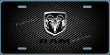 DODGE RAM  LICENSE PLATE, Made in USA