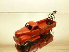 DINKY TOYS 25R STUDEBAKER BREAKDOWN TRUCK - DINKY SERVICE RED - GOOD CONDITION