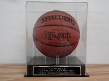 Basketball Case With A 2006 Miami Heat NBA Champions Engraved Nameplate