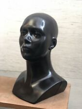 New Plastic Unisex Mannequin Display Head Retail Display Dummy Black