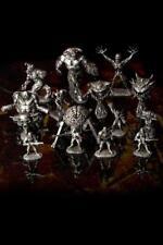 Doom Reaper Miniature Pewter Figure SET 15 Piece /w Doom Box - NEW Bethesda RARE