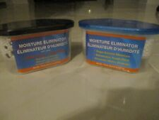 2X Moisture Eliminator, One Regular & Other With Charcoal, Eliminates Tough Odor