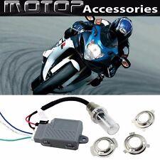 For Suzuki 35W 6000K Motorcycle HID Headlight Kit H6M H4 BA20D Bi-Xenon Light