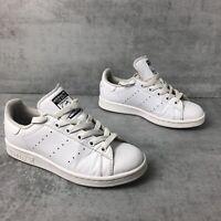 Adidas Stan Smith Trainers, size UK4.5 EU37.5, US5. White leather, Womens
