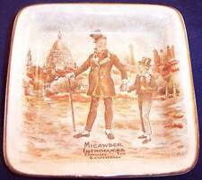"""Sandland Ware Micawber Introduces David to London 4"""" Small Collector Plate Dish"""