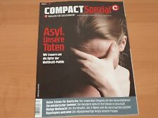 """COMPACT Spezial Magazin für Souveränität """"ASYL. Unsere Toten"""" Ausgabe 13/2017"""