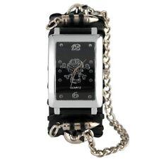 Cool Punk Rock Design Skull Men's Bracelet Watch Quartz Analog Watches Chain
