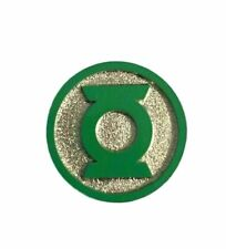 Green Lantern Pin Pewter Cosplay Pin with Hook on Back to Use as Necklace