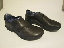 Clarks Wave Walk Women's Brown Leather Comfort Shoes Size 9M 13285