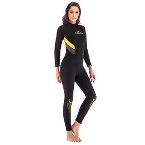 Legacy 3mm Womens Full Wetsuit Surf Ladies Steamer Swim Long Wet Suit S-2XL