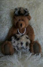 Artist Bear Dressed Socialite Fully Jointed Unknown Artist 14 1/2� T