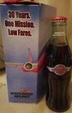 Coca Cola Southwest Airlines Collectible Bottle In Box 2001