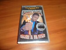 Chris Rock: Bigger And Blacker (UMD, 2005) Stand Up Comedy NEW PSP